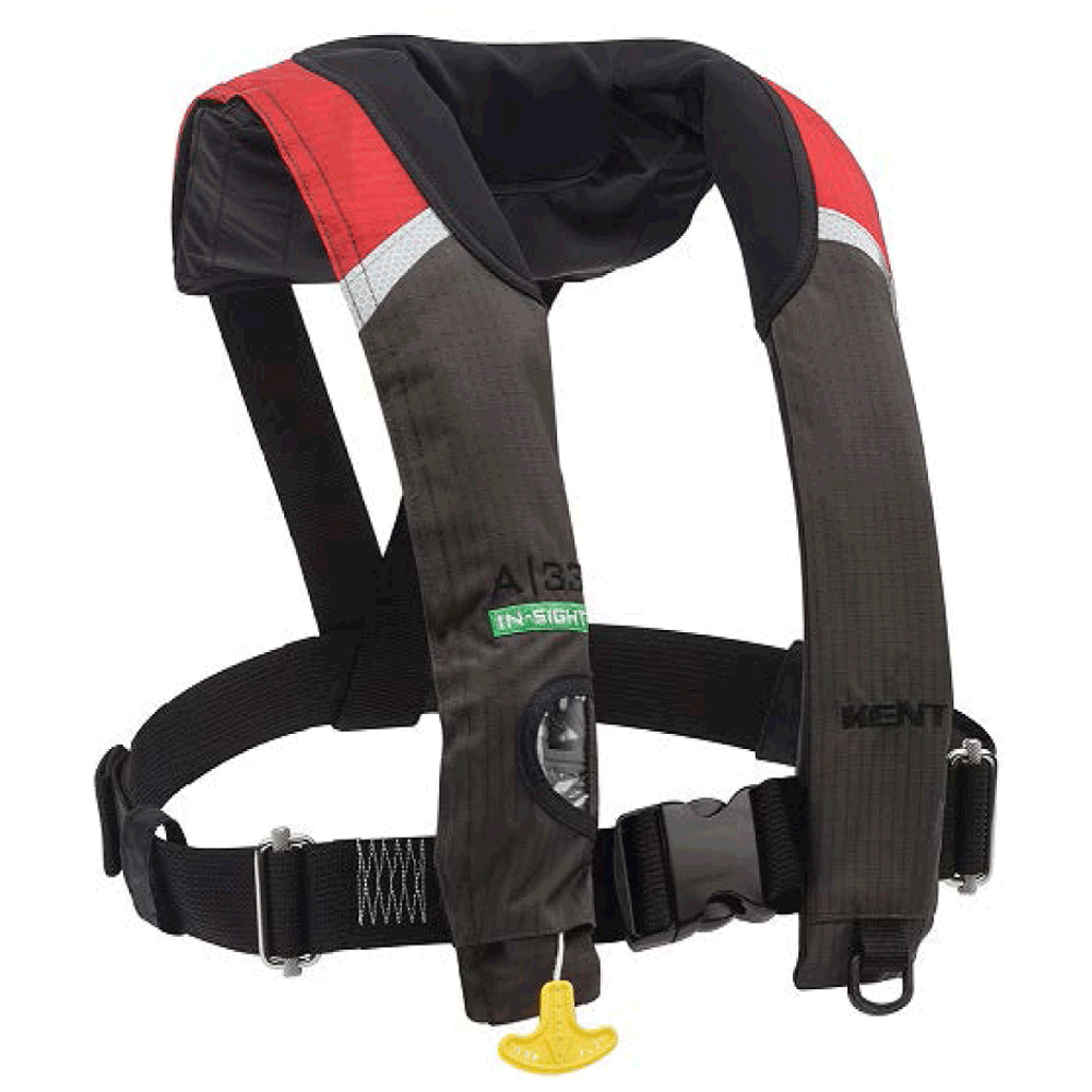 Kent Sporting Goods 49771M KENT A-33 AUTOMATIC STOLE INSIGHT INFLATABLE VEST