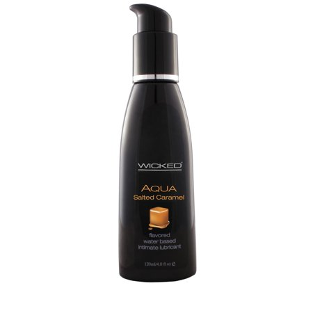 Aqua Vanilla Bean Flavored H2O-Based Intimate Lube 2 Oz.