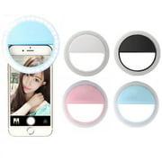 36 Led Selfie Light Ring Adjustment Photo Shoot Flash Fill Light Clip for Camera Phone Selfie Light - Pink