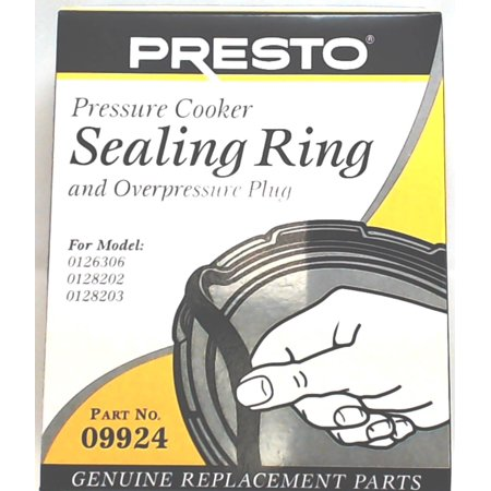 09924, Pressure Cooker Gasket Sealing Ring Fits Presto 0126306