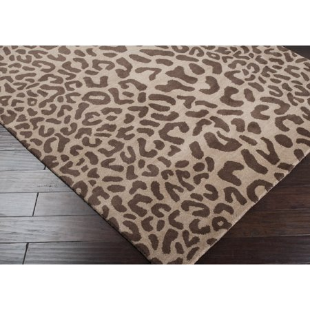Surya Carpet, Inc. Hand-tufted Jungle Animal Print Wool Area Rug (2' x (Jungle Friends Rug)