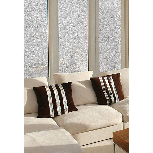 Brewster Mosaic Static Cling Window Privacy Window Film