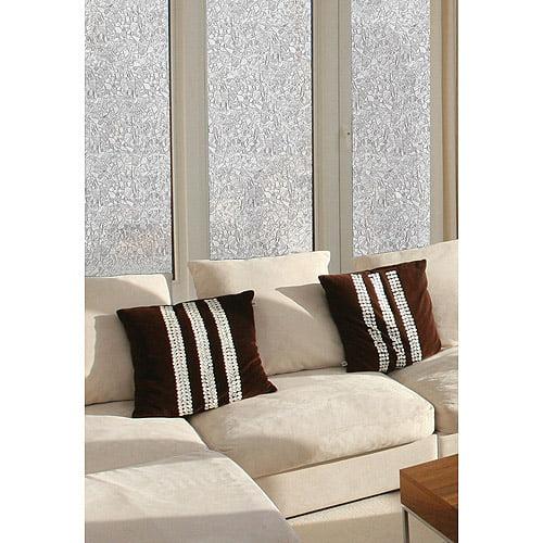 Brewster Mosaic Static Cling Window Privacy Window Film