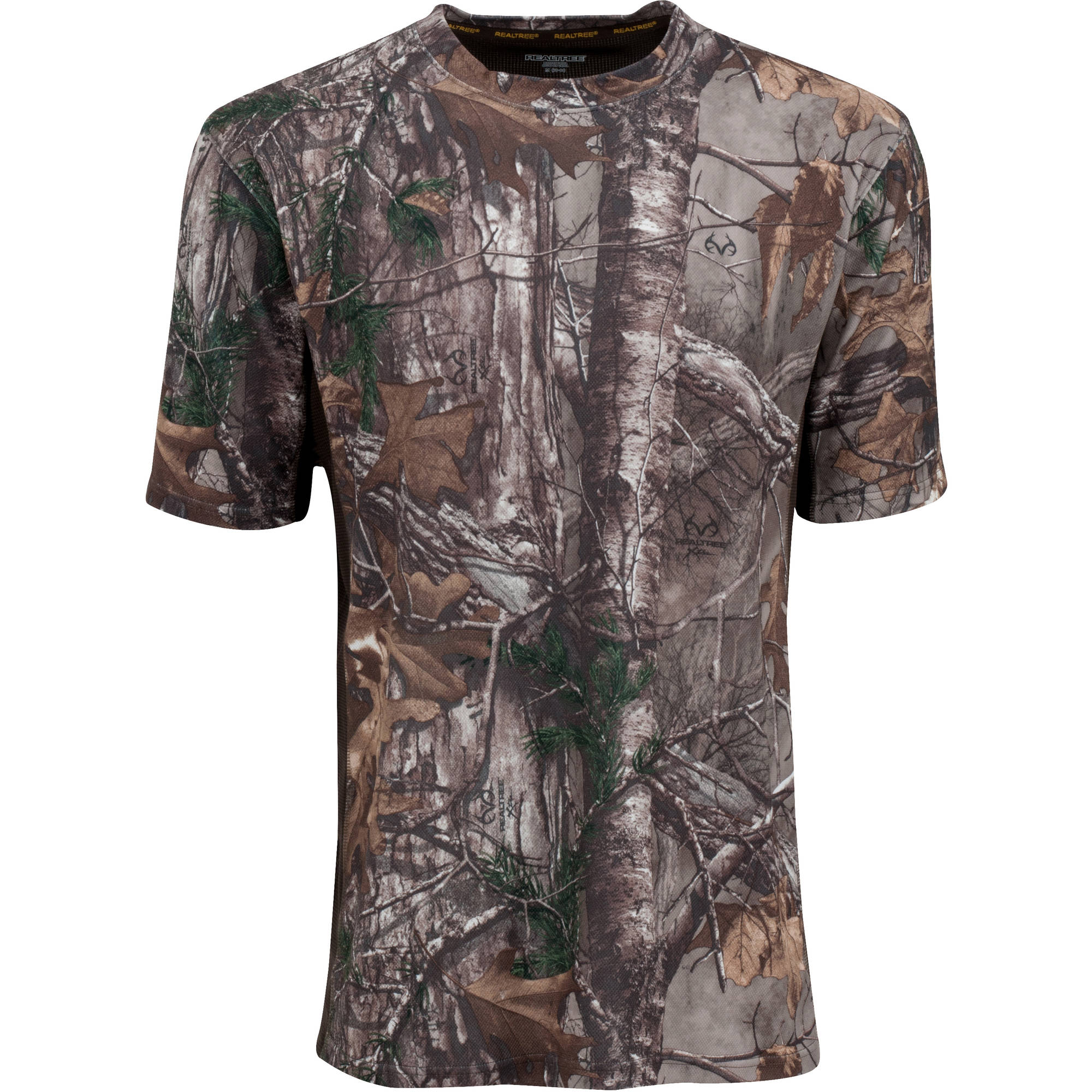 Mossy Oak Men's Short Sleeve Performance Tee