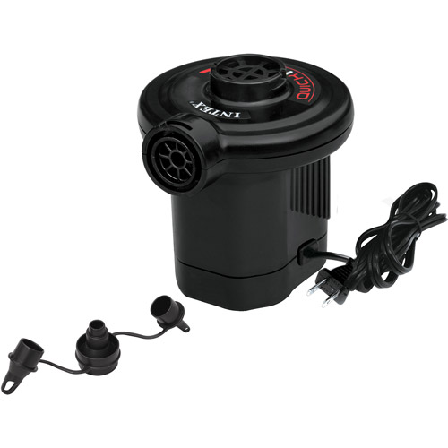 Click here to buy Intex 120V Quick-Fill AC Electric Air Pump, 21.2CFM Max. Air Flow by Intex.