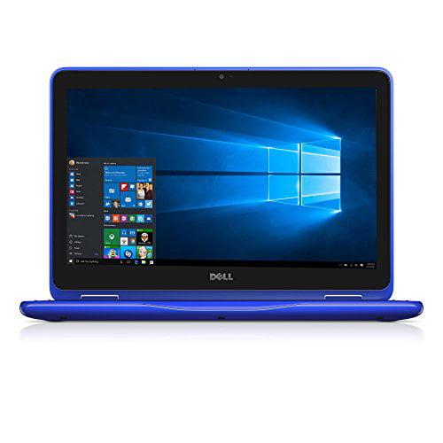 "Dell Inspiron 11 3000 11-3168 11.6"" Touchscreen 2 In 1 Netbook - Intel Pentium N3710 Quad-core [4 Core] 1.60 Ghz - Convertible - Blue - 4 Gb Ddr3l Sdram Ram - 500 Gb Hdd - Hd Graphics (i3168-3271blu)"