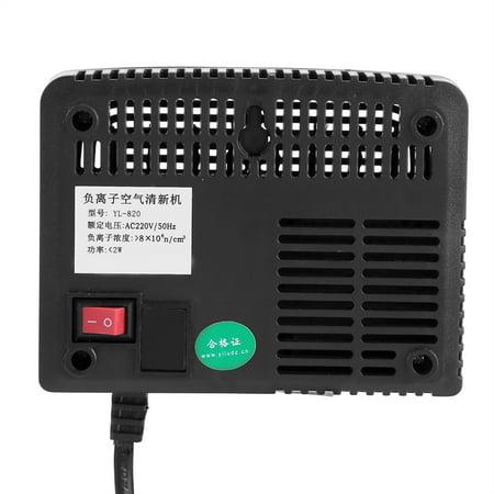 Greensen Black Intelligent Negative Ion Anion Generator Room Car Ionizer Air Purifier, Air Purifier, Air Ionizer - image 3 of 9