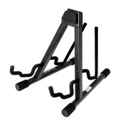 On Stage Double Electric and Acoustic Guitar Stand
