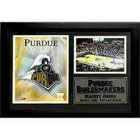 NCAA Purdue Photo Stat Frame, 12x18