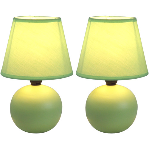 Simple Designs LT2008 Mini Table Lamp - Set of 2
