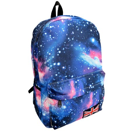 Voberry  Galaxy Pattern Unisex Travel Backpack Canvas Leisure Bags School Bag