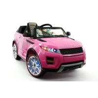 CarZ4KidS MODERNO ROVER 12V ELECTTRIC KIDS RIDE ON TOY CAR BATTERY POWERED LED WHEELS PARENTAL REMOTE MP3 PLAYER    PINK