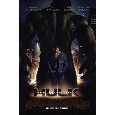 The Incredible Hulk  2008  27X40 Movie Poster