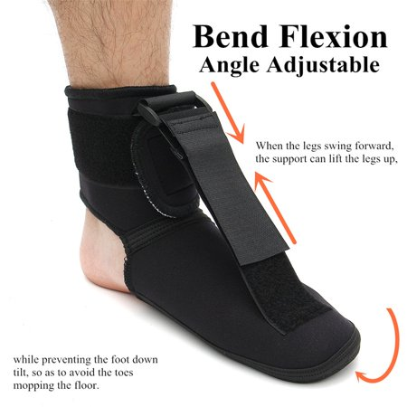 7d12b5bd7f S/M/L Sponge Nylon Plantar Fasciitis Night Splint Dorsal Foot Brace for Heel