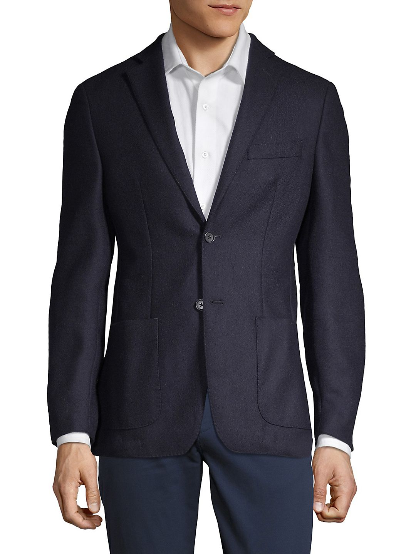 Wool Button Sportcoat
