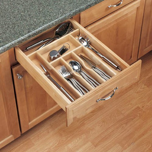 Rev-a-Shelf Wood Cutlery Tray Insert