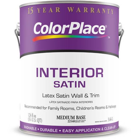 Colorplace Interior Satin Medium Base Paint 1 Gal
