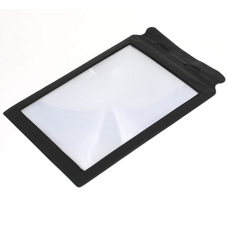 3X A4 Size Card Magnifying Fresnel Lens Magnifier Portable Flexible for Reading - image 1 of 2