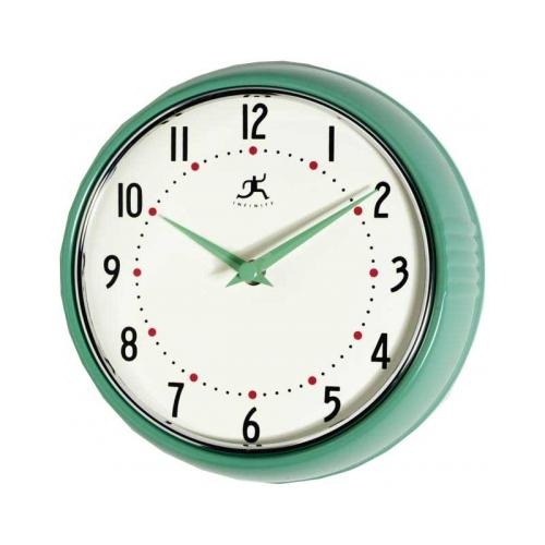 Infinity Retro - Green Wall Clock IWC10940GREEN