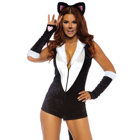 Leg Avenue Womens Frisky Kitty (Women's Sport Costume Ideas)