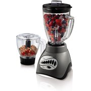 Oster 12 Speed Precise Blend 300 Plus with 3 Cup Metallic Gray Food Processor