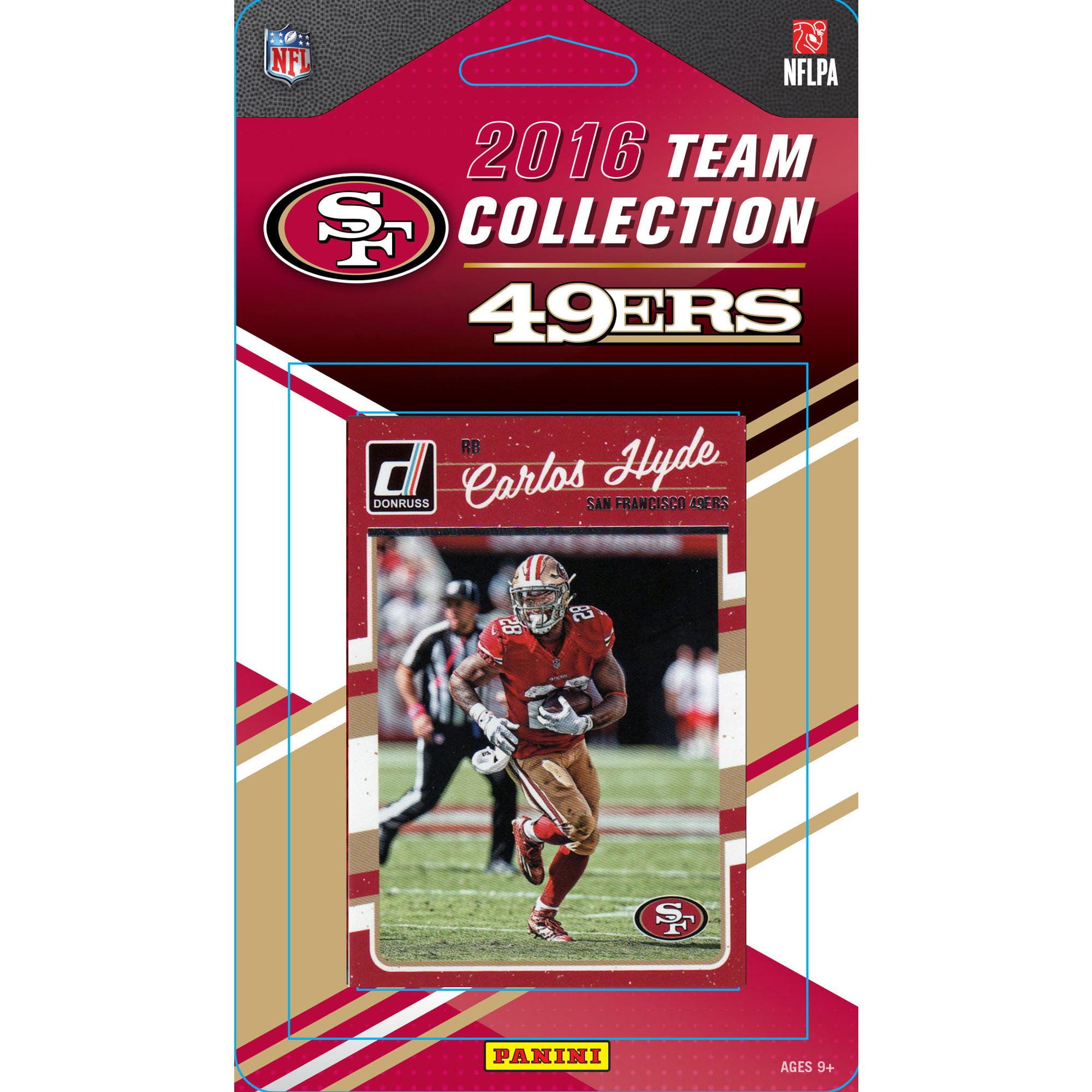 San Francisco 49ers 12-Pack 2016 NFL Team Set - No Size