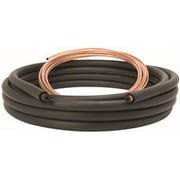 Standard Air Conditioner Line Set, 3/8 In. Liquid Line X 3/4 In. Suction Line With 3/4 In. Insulation, 50 Ft. Long