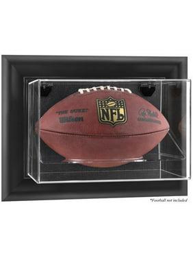 Black Framed Wall-Mountable Football Display Case