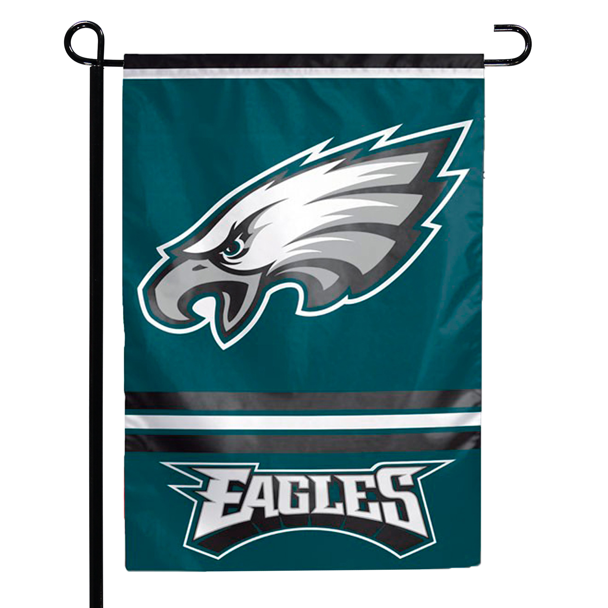"Philadelphia Eagles WinCraft 12"" x 18"" Double-Sided Garden Flag - No Size"