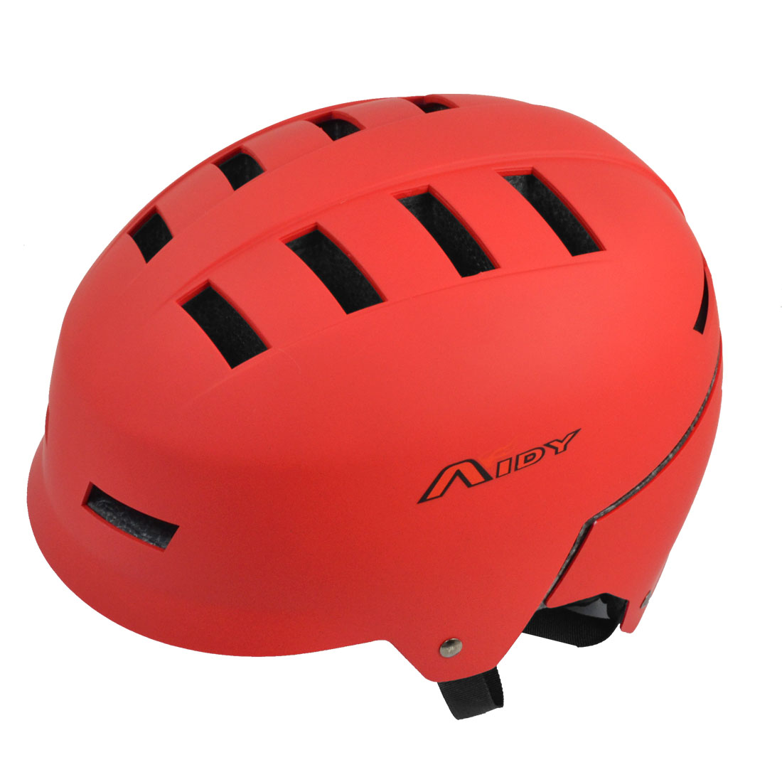 Women Men Skateboard Skiing Racing Bicycle Bike Sports Helmet Red by