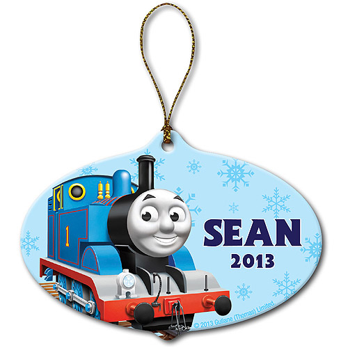 Personalized Thomas & Friends Snowflake Christmas Ornament