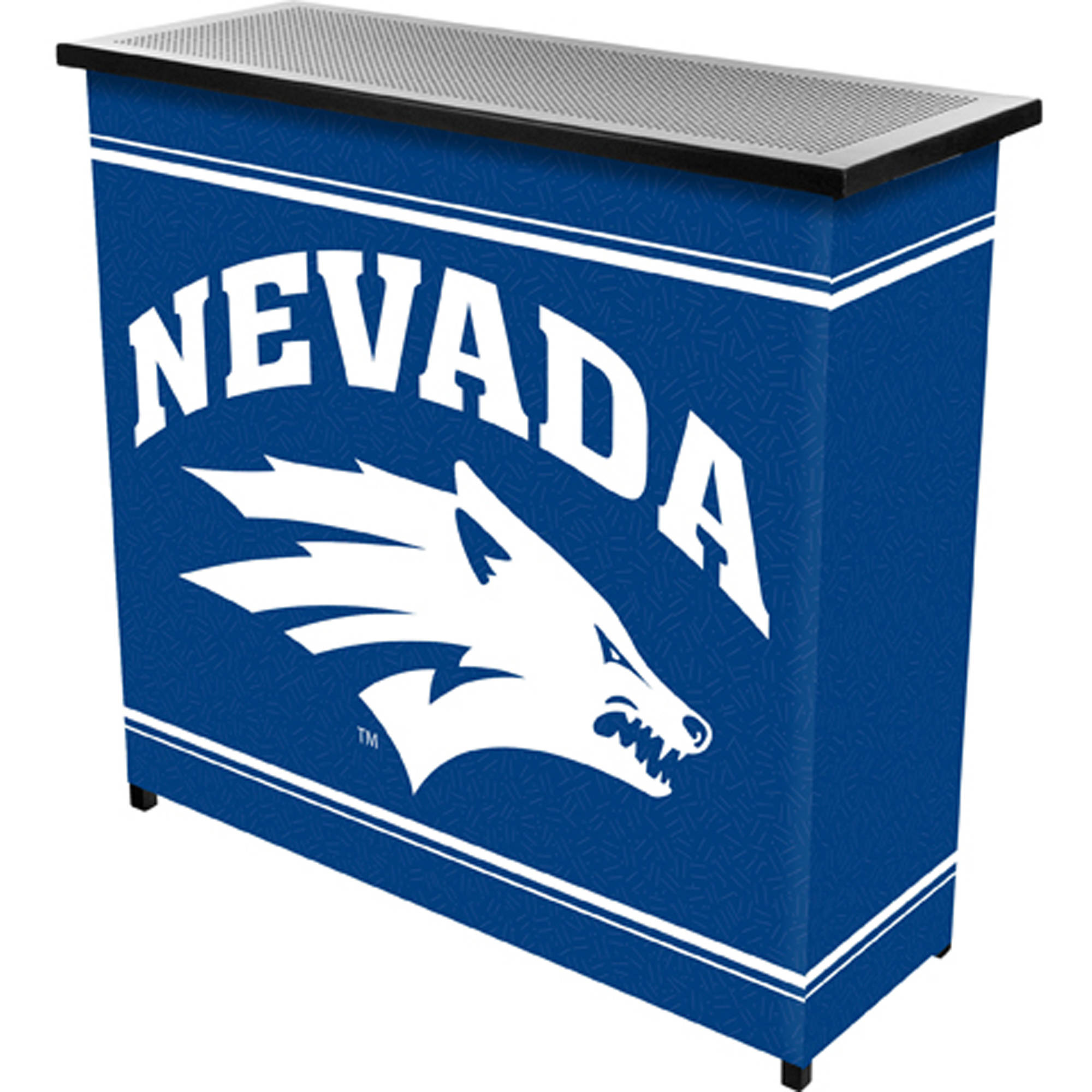 University of Nevada 2-Shelf Portable Bar with Carrying Case