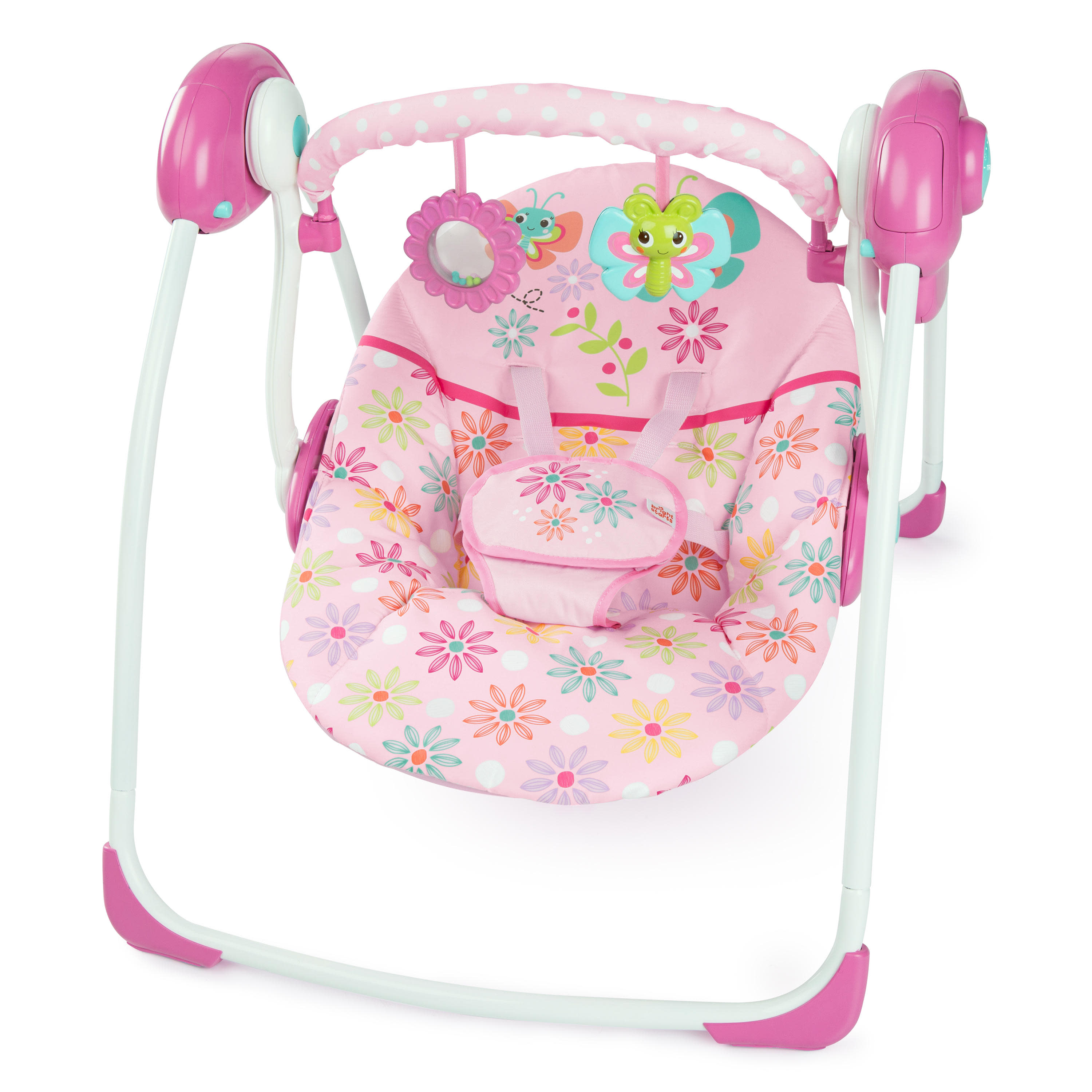 Bright Starts Butterfly Dreams Portable Swing