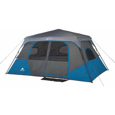 Ozark Trail 8 Person 2 Room Instant Cabin Tent Walmart Com
