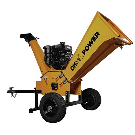 Detail K2 OPC504 4 in. 9.5 HP Cyclonic Chipper Shredder with KOHLER CH395 Command PRO Commercial Gas