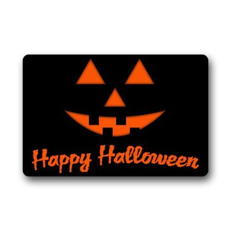WinHome Halloween Doormat Floor Mats Rugs Outdoors/Indoor Doormat Size 30x18 inches - Level 5 100 Floors Halloween