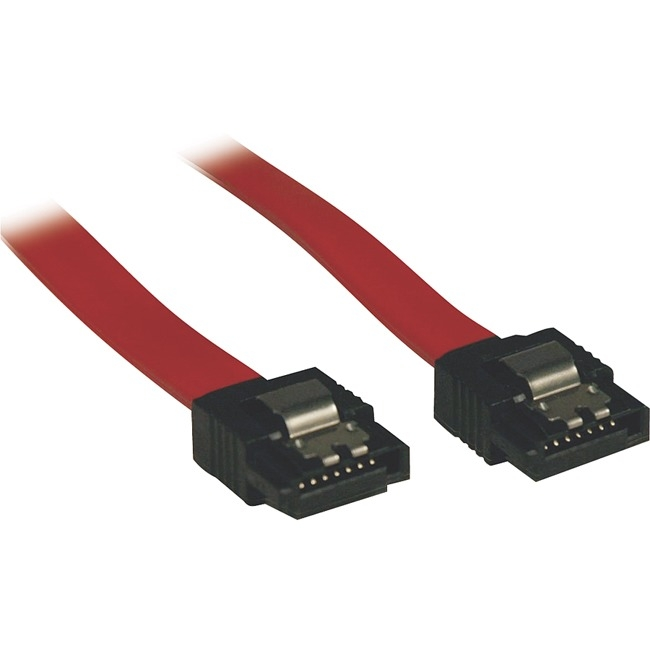 Tripp Lite 1ft Serial ATA (SATA) Latching Signal Cable (7Pin/7Pin)