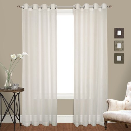 Venetian Window - United Curtain Venetian Curtain Panel Pairs