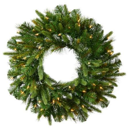 Cashmere Pre-Lit Christmas Wreath