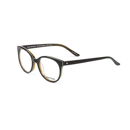 Paul Frank Fondly Fahrenheit Eyeglass Frames 49mm Burgunday/Seafoam ...