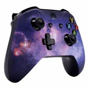 Microsoft Xbox One S Soft Touch Custom Controller - Galaxy Soft Shell For Comfort Grip X