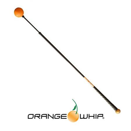 New Orange Whip Golf Swing Training Aid 44