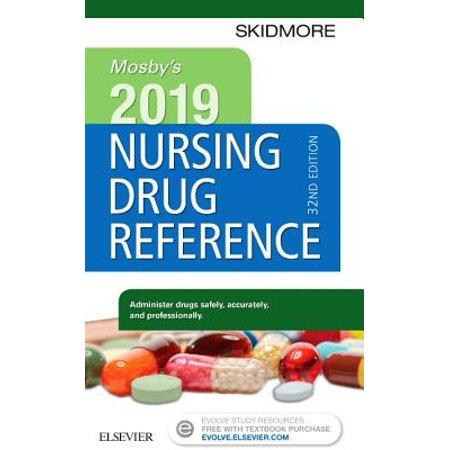 Mosby's 2019 Nursing Drug (Best Nurse Drug Books)