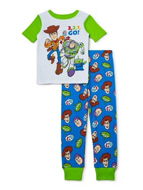 Toy Story Toddler Boy 2 Piece Cotton Sleeper