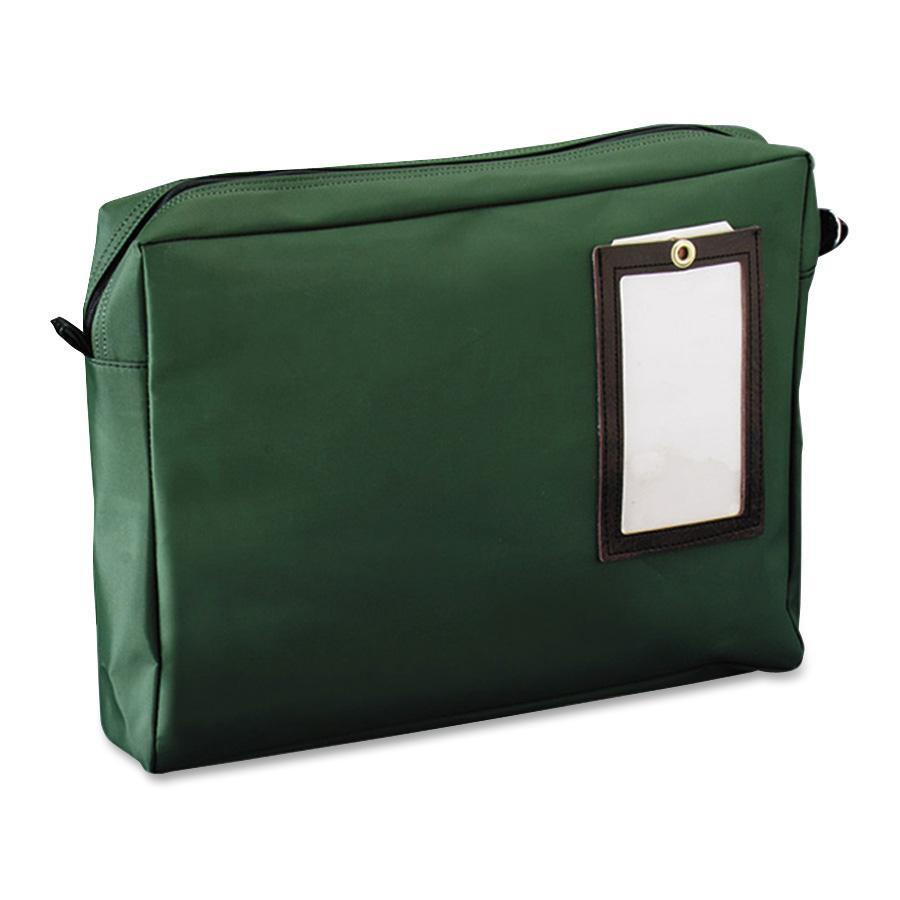 MMF Cloth Transit Mail Bag, Green, 1 Each (Quantity) by MMF INDUSTRIES