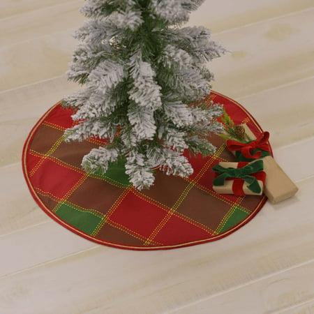 Christmas Booklet Pane (Cherry Red Traditional Christmas Decor Tristan Viscose Metallic Ribbon Velvet Windowpane 21