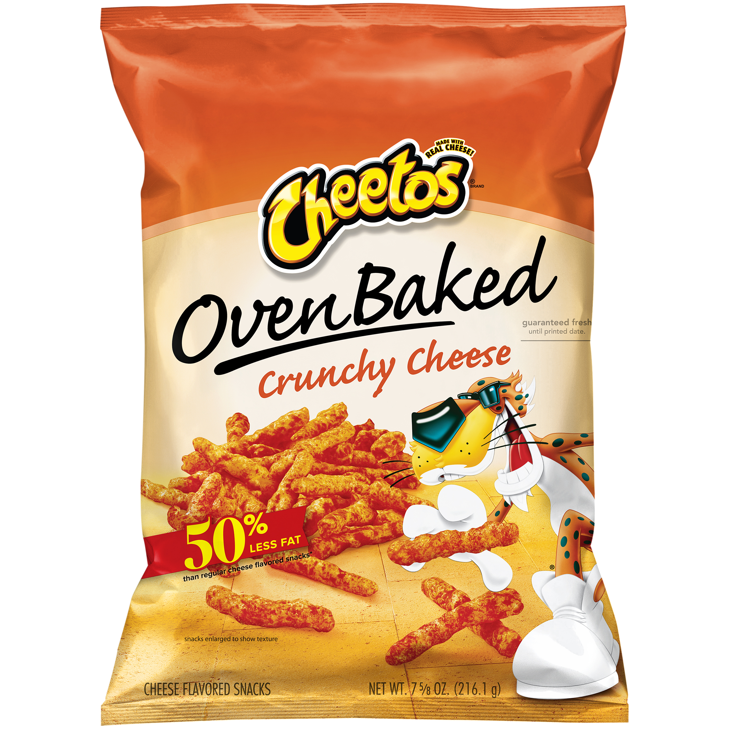 Cheetos® Oven Baked Crunchy Cheese Snacks 7.625 oz. Bag