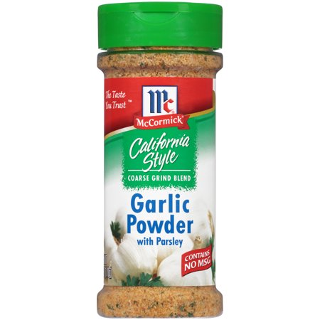 (2 Pack) McCormick California Style Garlic Powder With Parsley Coarse Grind Blend, 6 oz (Habanero Powder Blend)