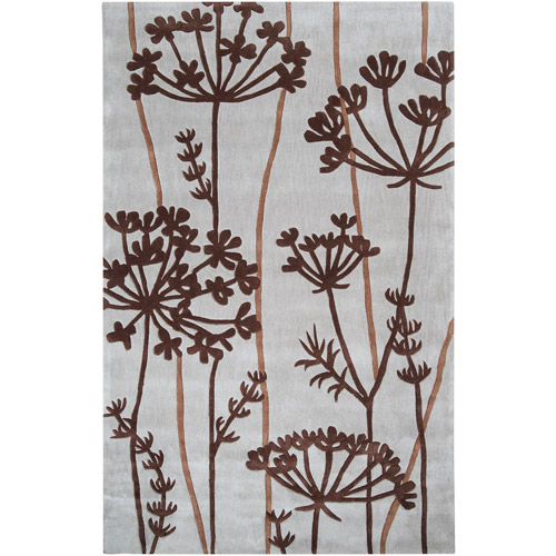 Art of Knot Anniston Gray Polyester Area Rug
