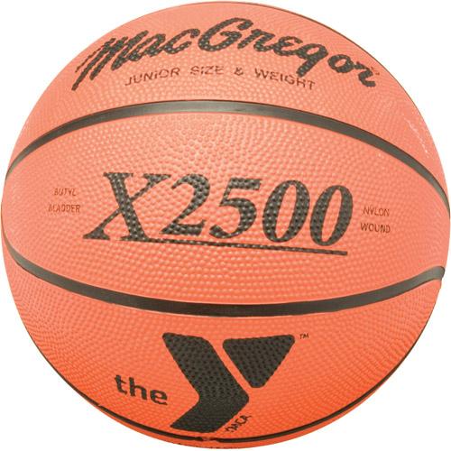 MacGregor X2500 Junior Basketball with YMCA Logo